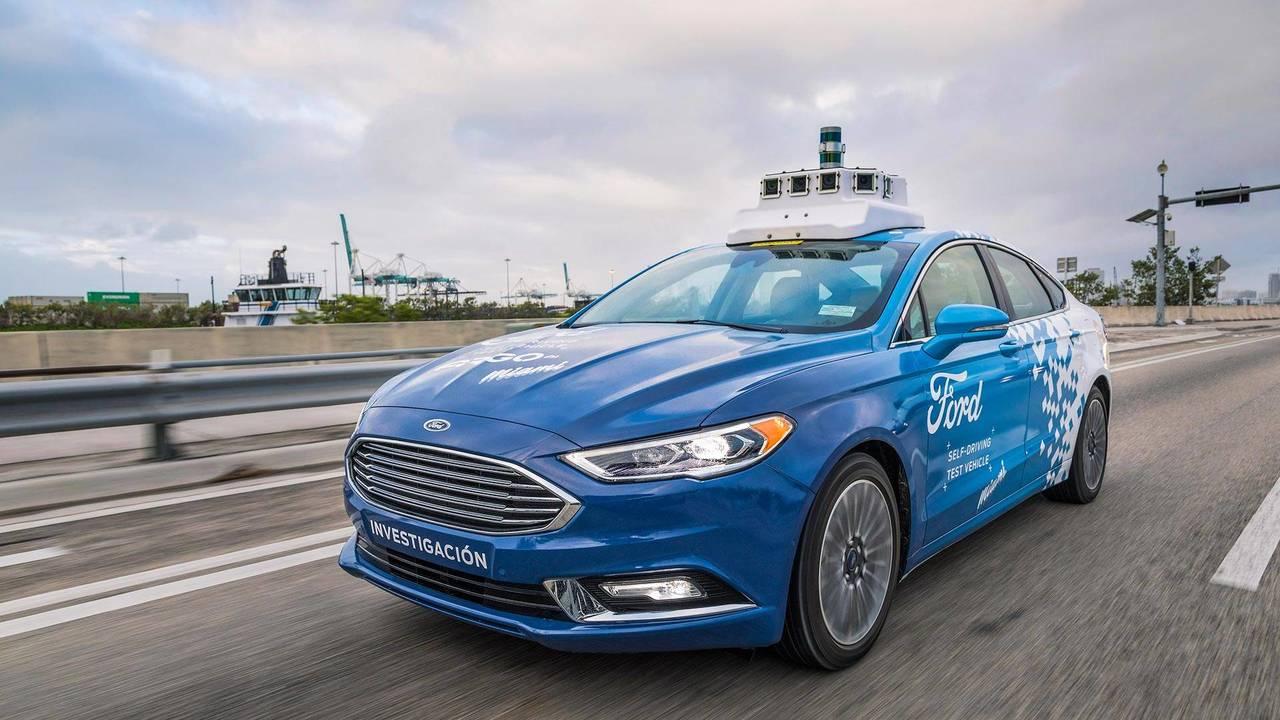 Autonomous vehicle by Ford