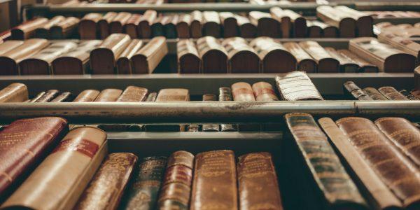 Old books. Photo by Cristina Gottardi on Unsplash