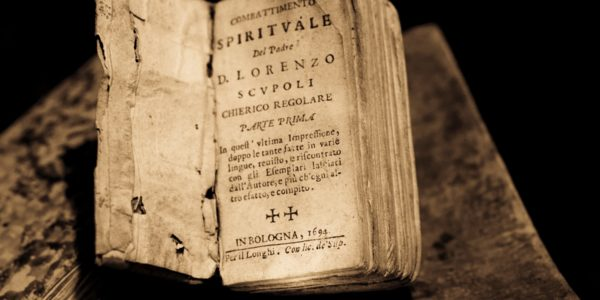 Old book, the kind that might be archived digitally. Photo by Daniele Levis Pelusi on Unsplash