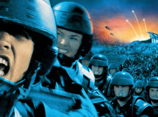 Starship Troopers (film) publicity image
