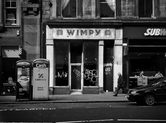 Death of the high street. Closed down Wimpy. Photo byscottishstoateronUnsplash