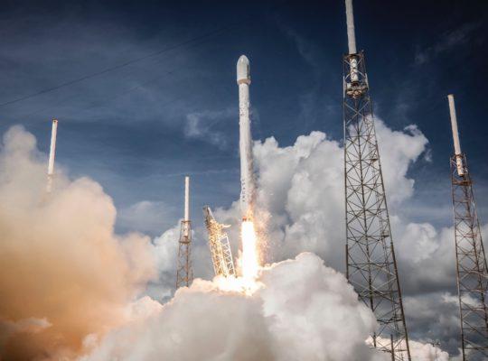 Space rocket launch. Photo bySpaceXonUnsplash