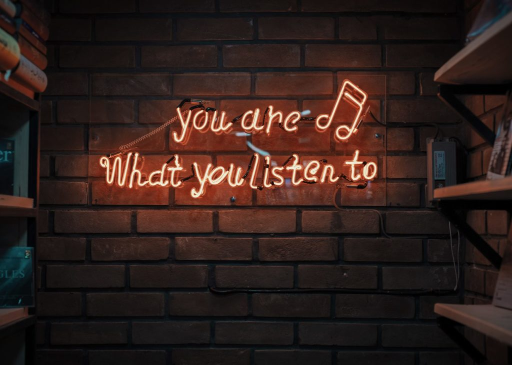 Podcasts: you are what you listen to. Photo by Mohammad Metri on Unsplash