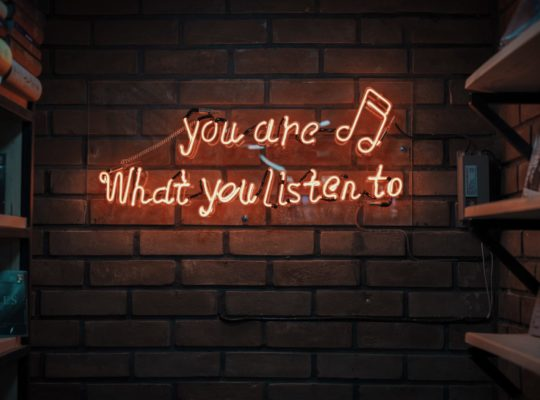 Podcasts: you are what you listen to. Photo byMohammad MetrionUnsplash