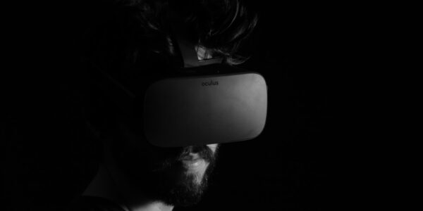 Virtual Reality (VR) headset. Photo by Lux Interaction on Unsplash.